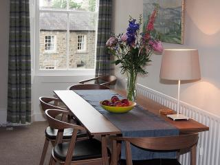 Dining table end of living room