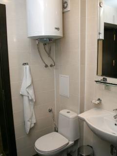 WC & Shower Cabin