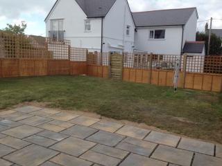 Enclosed Patio and Garden