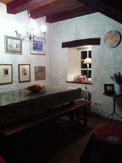 the heart of the house - the dining table!