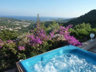 Great Villa sea view, jacuzzi