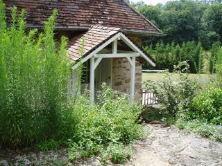 Bridge to Master Bedroom from top garden