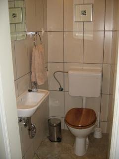 Additional toilet & basin (in both apartments)