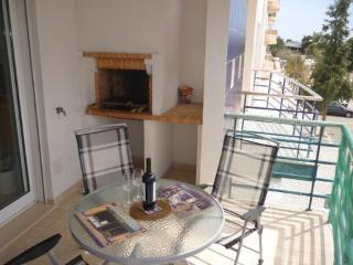 Sunny Front Balcony with built in BBQ