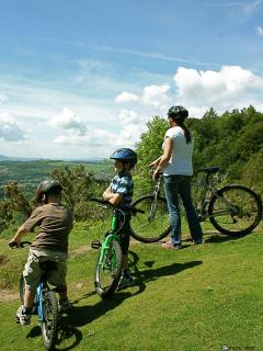 A great area to mountain bike - you can hire in Boat of Garten