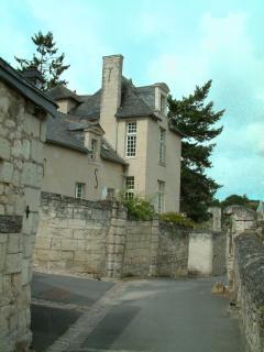 Joli village de charme sur les bords de Loire :Candes st Martin
