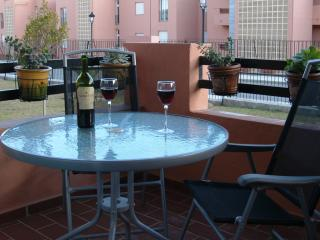 Balcony - ideal for outside dining