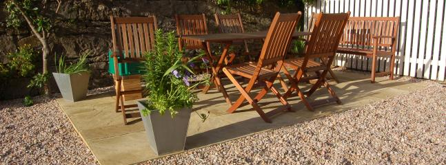 Garden furniture for alfresco dining