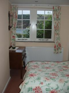 Both bedrooms have sea views