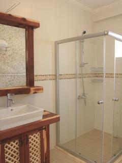 Fully tiled walk in shower rooms