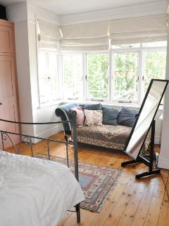 Main double bedroom, with bay window