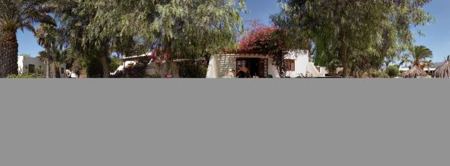 villa by poolside