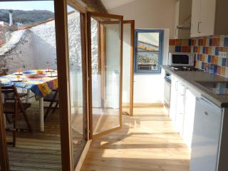Kitchen leading to roof terrace