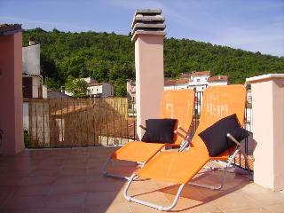 Relax on the roof terrace at Casa Rosa