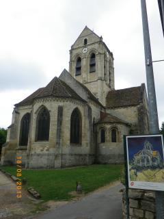 Visit Van Gogh church at Auvers, only a 10 minute drive