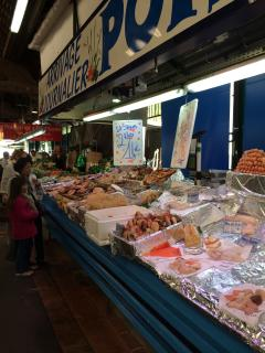 Local market - every Tuesday, Friday & Sunday - picture of the fish stalls