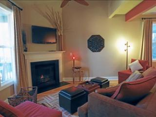 Living Area w/ Cozy Fireplace