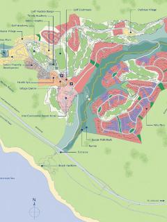 Aphrodite Hills Site Map