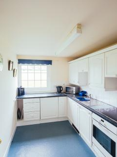Kitchen - dishwasher, fridge,cooker and microwave