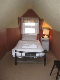Single Bedroom with view of Whitby Abbey