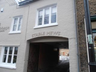 Archway into Stable Mews