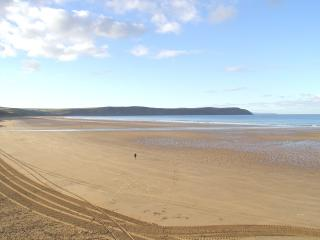 WOW - View from Southover Beach Apartments - on Woolacombe Beach