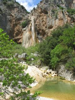 Lepida water falls
