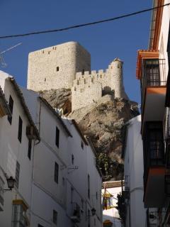 Castle from Calle Maestro Amado.
