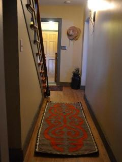 Hallway leading to the front door