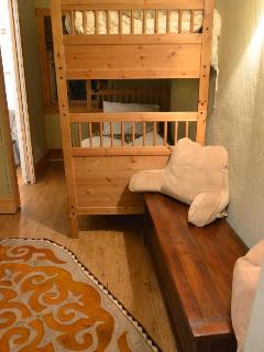 Bunk Bed room has two sets of bunk beds.