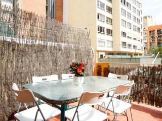 Encantador apartamento con terraza Paseo de Gracia