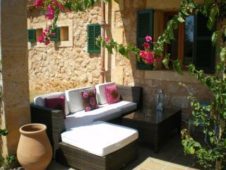 Terrace rattan sofa