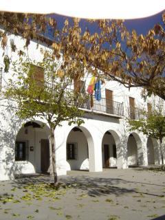 Pitres village