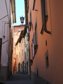 A typical 'street' in old Barga's centro storico, historic centre