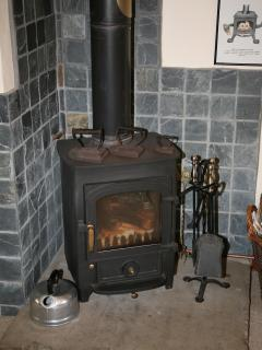 Quintessential cottage log burner - perfect for those winter nights