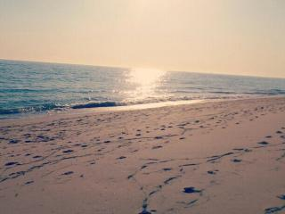 Nice beach to walk