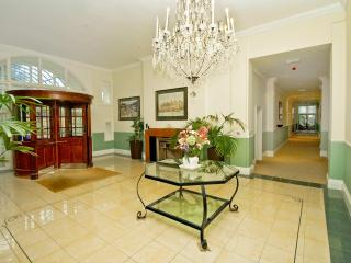 Burlington Mansions main entrance hall