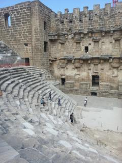 Aspendos Theater 10 mn away from home