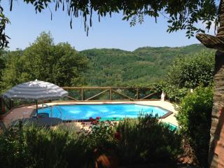 Secluded, traditional Italian villa with private grounds, pool and terrace, sleeps 7, Bagni di Lucca