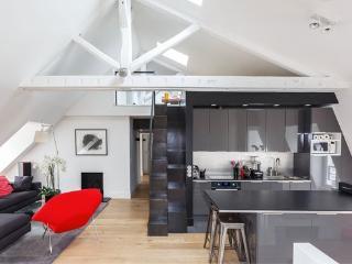 Stunning top floor family flat, Paris