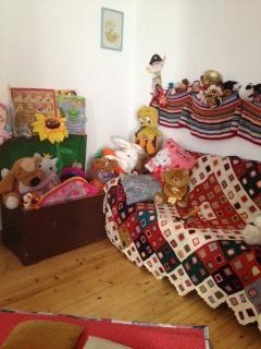 stanza lettura e  stanza giochi per bambini: un mondo da scoprire!