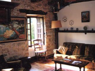 A view of part of the sitting room