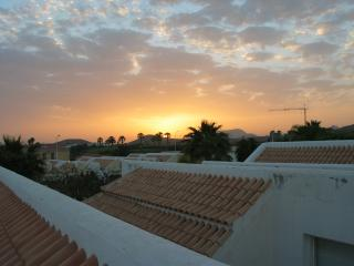 Sunset from Roof Terrace.