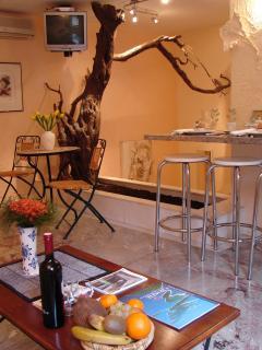 Apartment Figarola - living area, detail