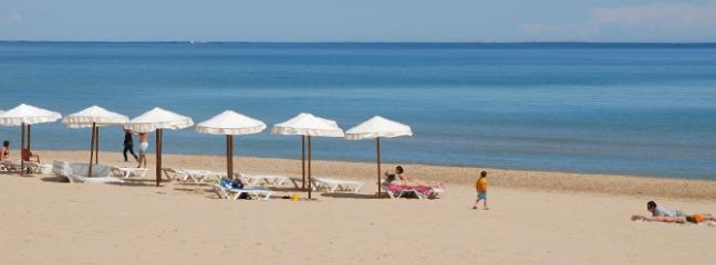 The local Guardamar beach just 10mins drive from the apartment