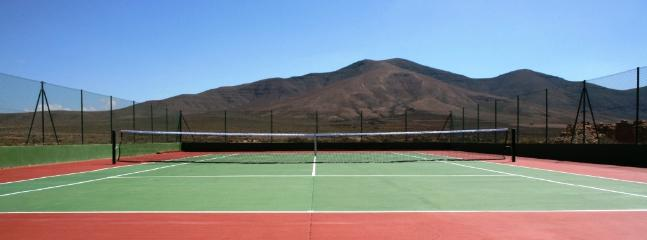 Private Tennis Court - with a panoramic view