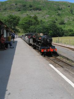 The Ratty at Dalegarth station