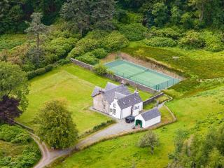 Aerial view of the Manse
