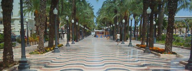 The beautiful city of Alicanté