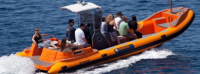 Velocidad barco Alquiler/día vela & excursiones isla